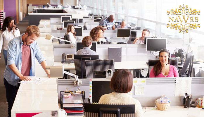 open office cubicles. cubicles vs. open office space