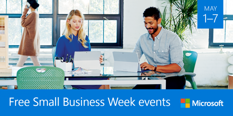 Microsoft small business week