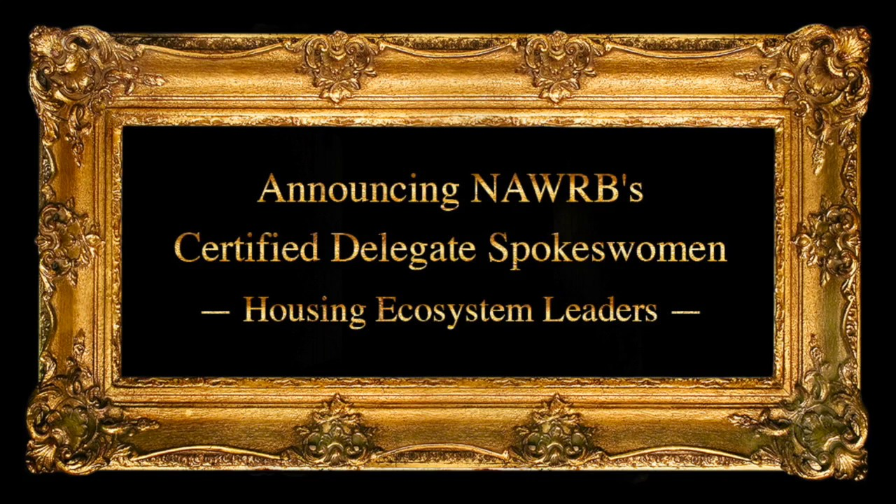 Announcing the Inaugural NAWRB Certified Delegate Spokeswomen Graduating Class