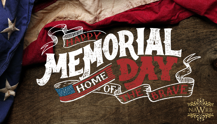 Happy Memorial Day Weekend from NAWRB! - NAWRB