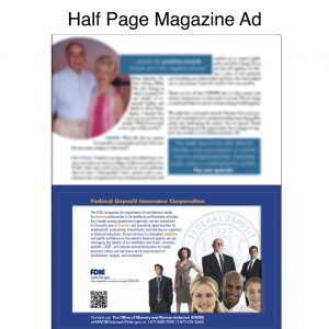 HalfPage MagazineAd