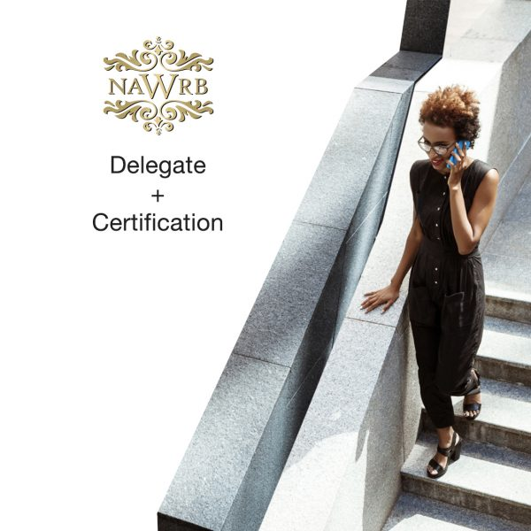delegate and certification