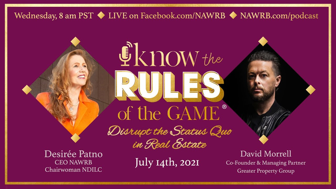 Know the Rules of the Game RECAP: SPECIAL GUEST David Morrell
